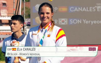Èlia Canales fa història i aconsegueix la medalla de plata als Jocs Olímpics de la Joventut