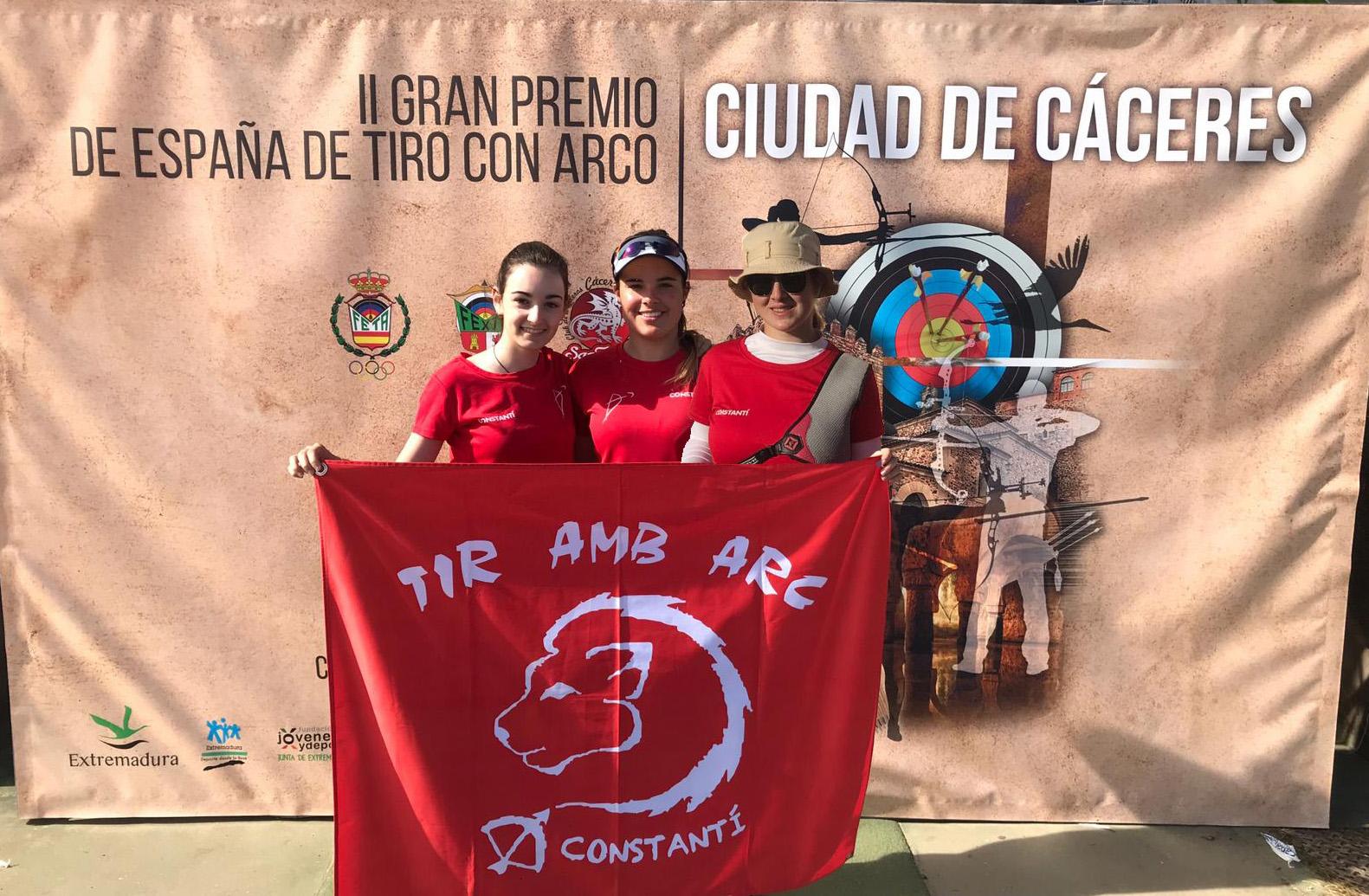 Èlia Canales, medalla de bronze del GP d'Espanya en categoria absoluta