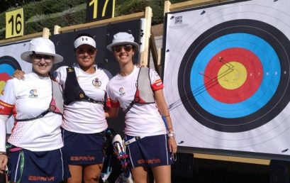 Elia Canales y Maria Pitarch, bronce en el Mundial júnior de tiro con arco