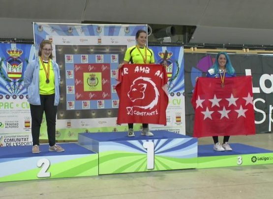 L'arquera Èlia Canales es proclama campiona d'Espanya sènior