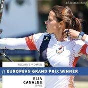 Èlia Canales es proclama campiona del Gran Premi d'Europa d'Antalya
