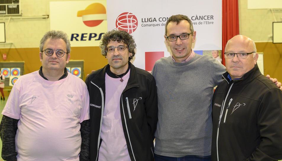 El Club de Tir amb Arc Constantí ha presentat el projecte Fletxes Solidàries als mitjans de comunicació